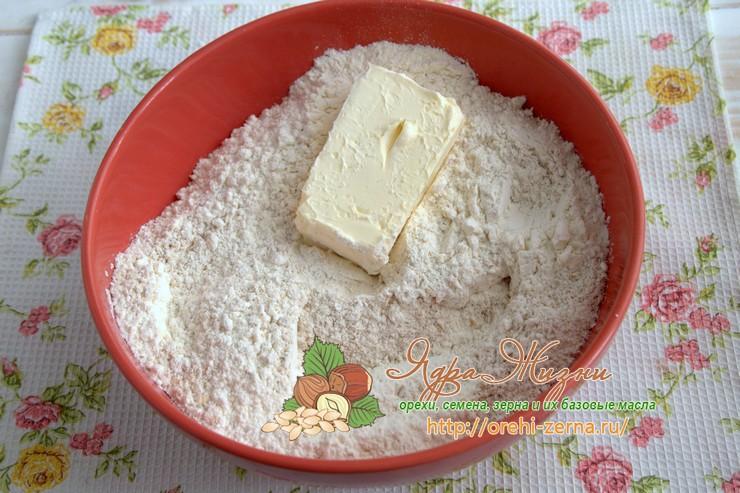 песочное тесто с овсяной мукой рецепт