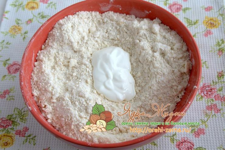 песочное тесто с овсяной мукой рецепт с фото
