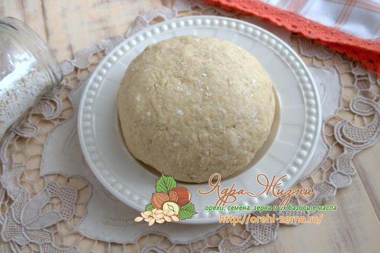 песочное тесто с овсяной мукой рецепт в домашних условиях