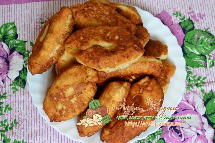 Постные жареные пирожки с картошкой рецепт в домашних условиях