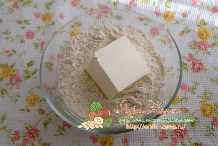 песочное тесто с ржаной мукой рецепт с фото