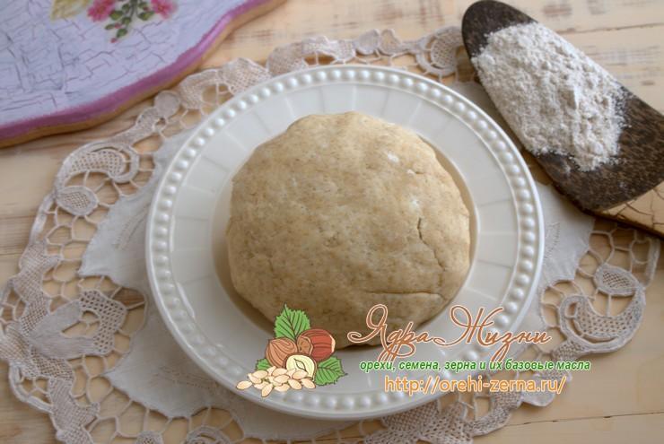 песочное тесто с ржаной мукой рецепт в домашних условиях