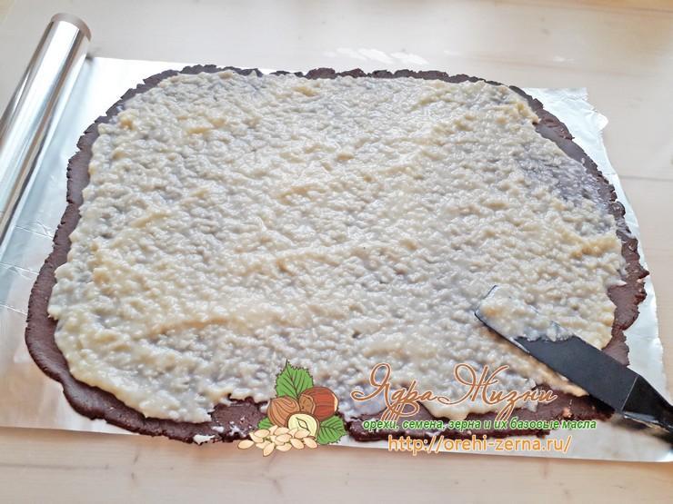 рулет из печенья рецепт в домашних условиях