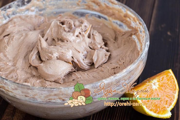 шоколадные кексы с апельсиновой цедрой рецепт в домашних условиях