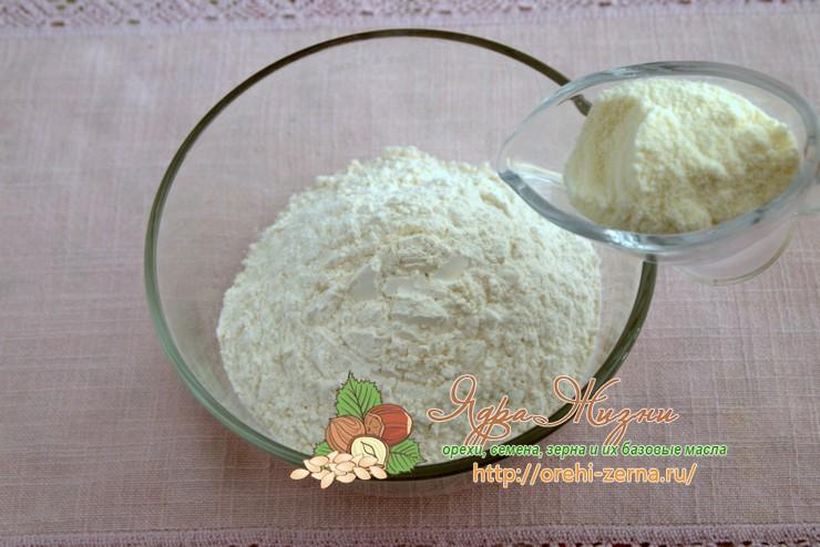 песочное тесто на сухом молоке рецепт