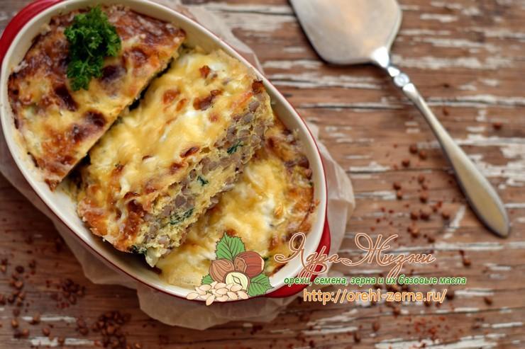Гречневая запеканка и сыром: рецепт в домашних условиях