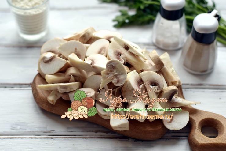 котлеты из гречки с грибами рецепт