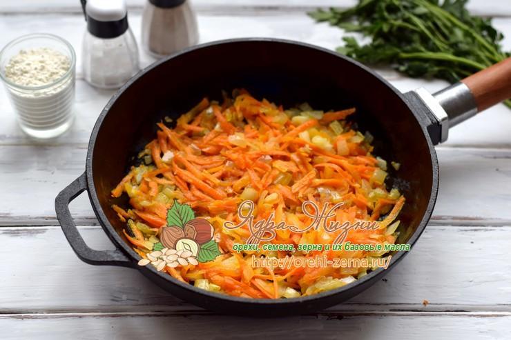 котлеты из гречки с грибами рецепт с фото