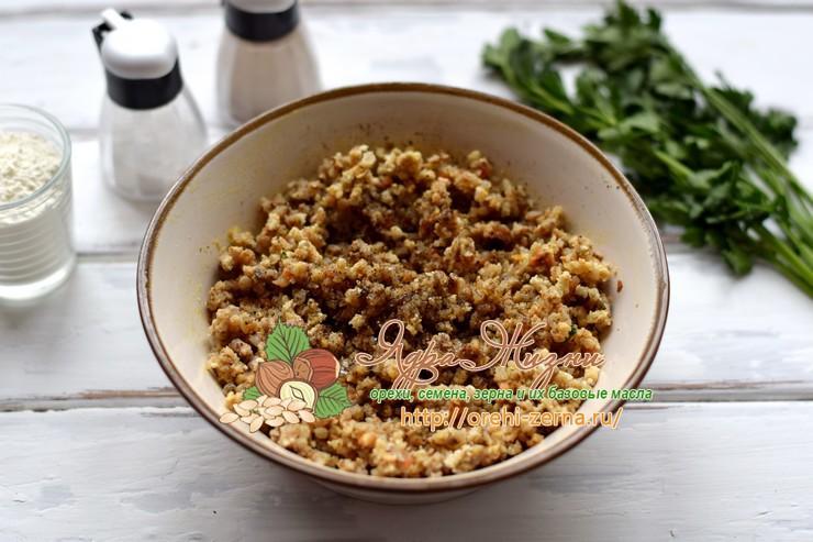 постные котлеты из гречки с грибами рецепт