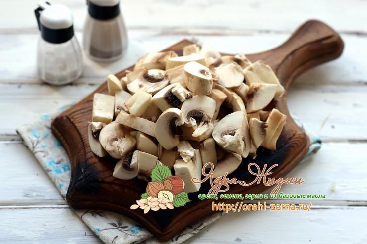 нут с грибами рецепт с фото