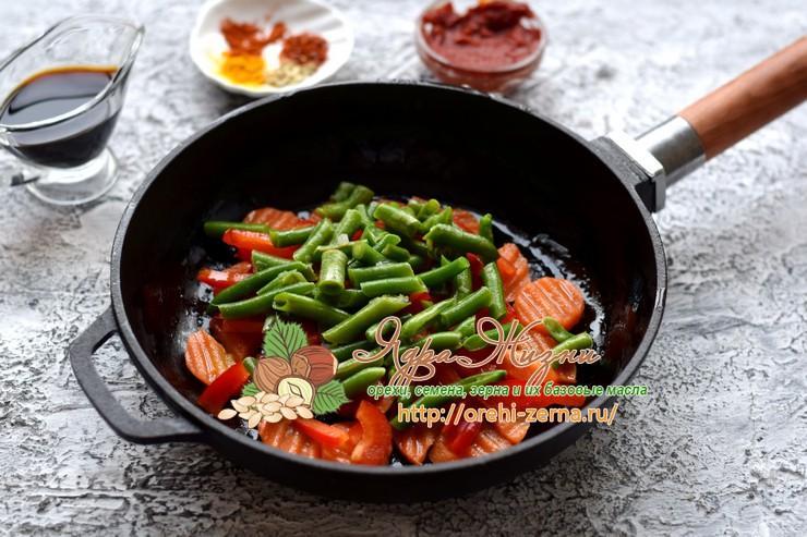 нут с овощами рецепт