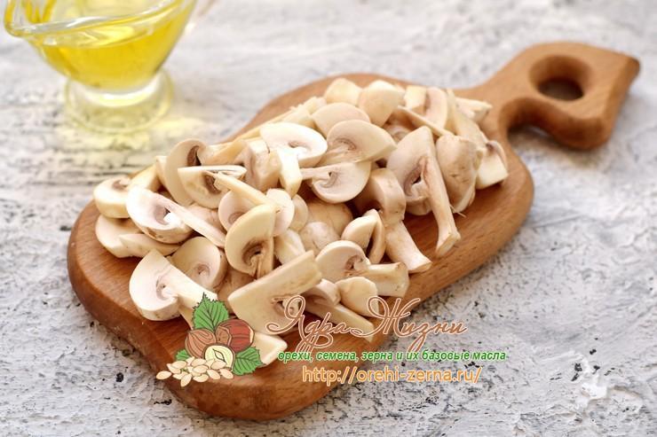 паштет из грибов и фасоли рецепт