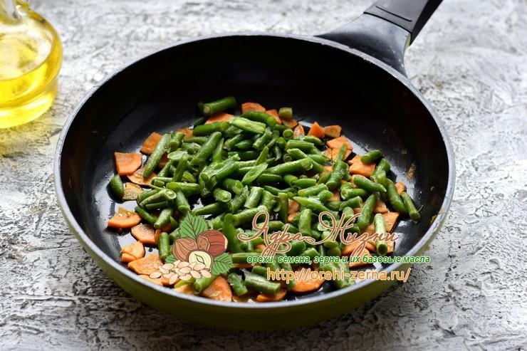 Суп с рисом и стручковой фасолью рецепт