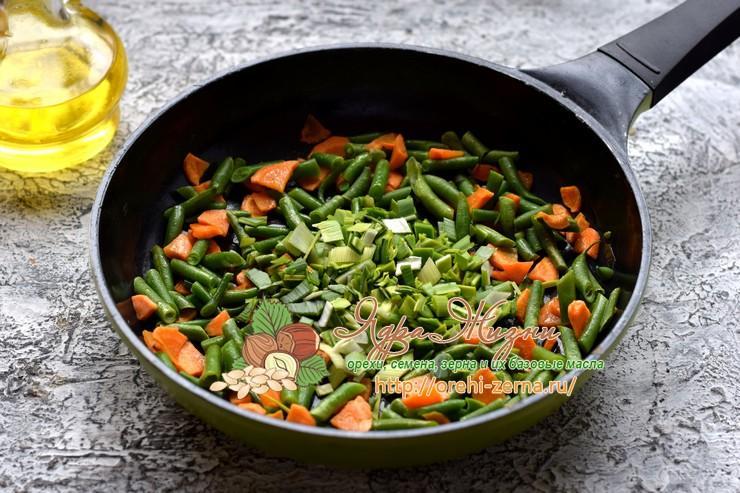 Суп с рисом и стручковой фасолью рецепт с фото
