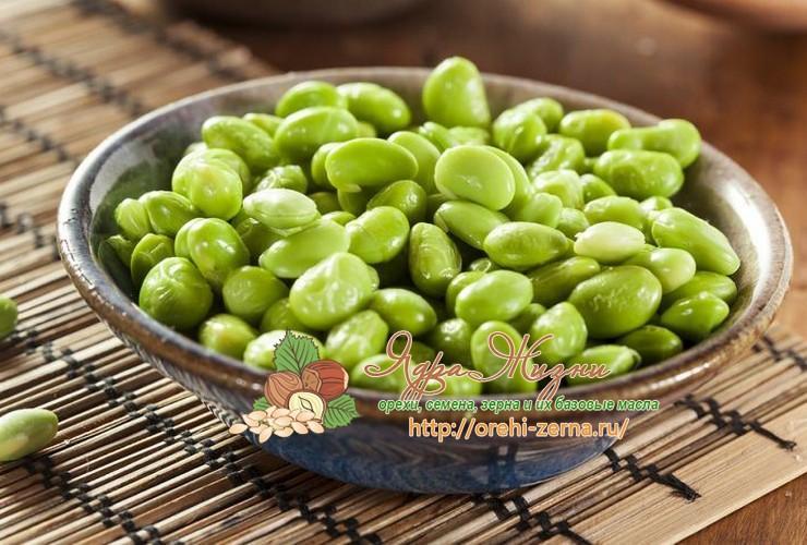 Блюда из зеленой сои