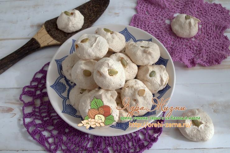 белковое печенье с тыквенной мукой: рецепт в домашних условиях