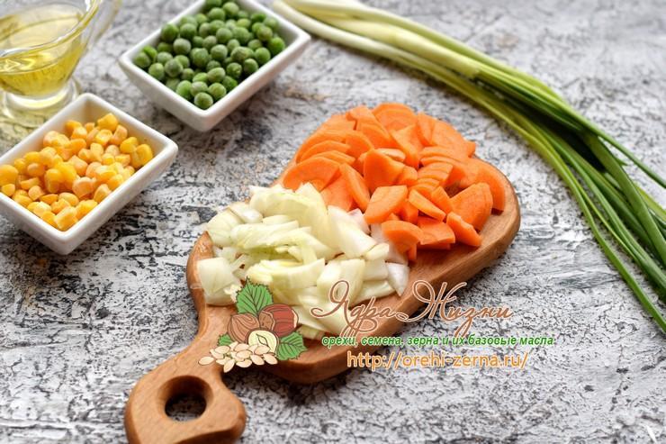 булгур с овощами рецепт