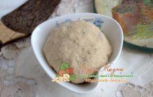 Фасолевое тесто: рецепт в домашних условиях
