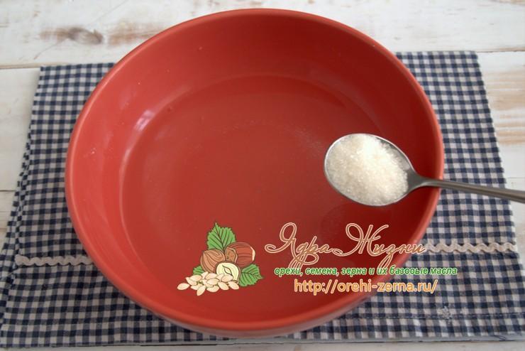 гречневый хлеб с семенами льна рецепт