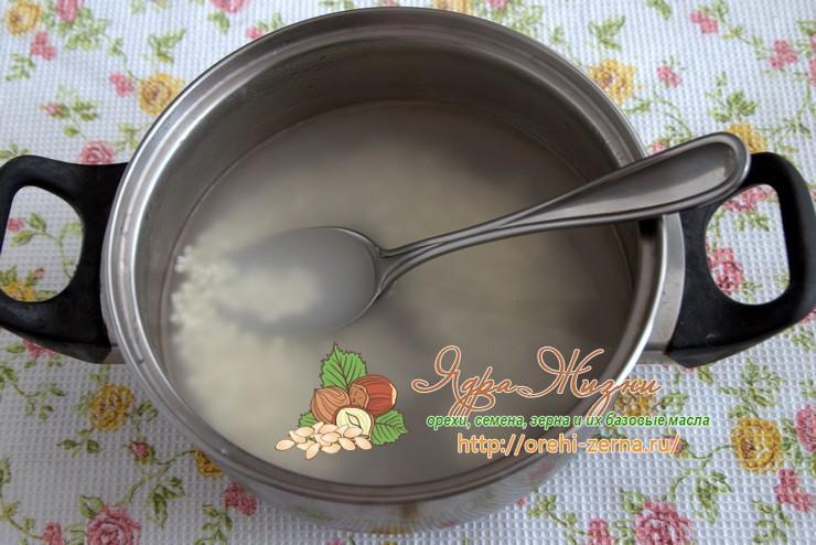Как приготовить кашу из саго рецепт в домашних условиях