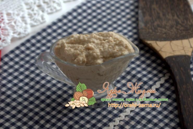 Кунжутная паста «Тахини»: рецепт в домашних условиях