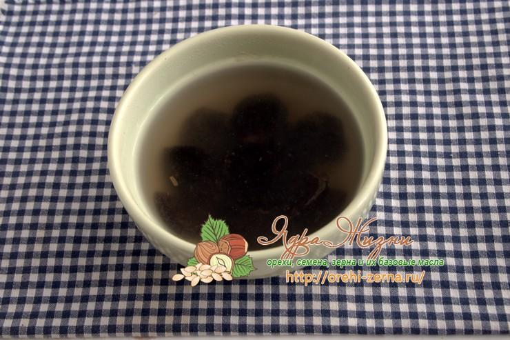 льняная каша с черносливом рецепт
