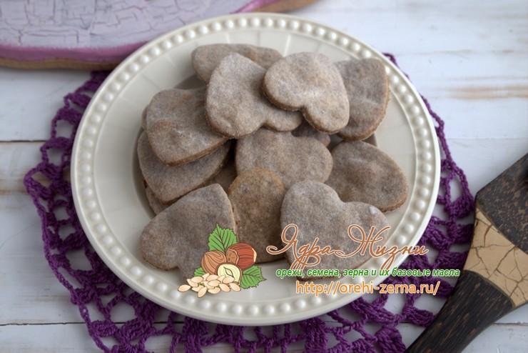 Льняное печенье: рецепт в домашних условиях