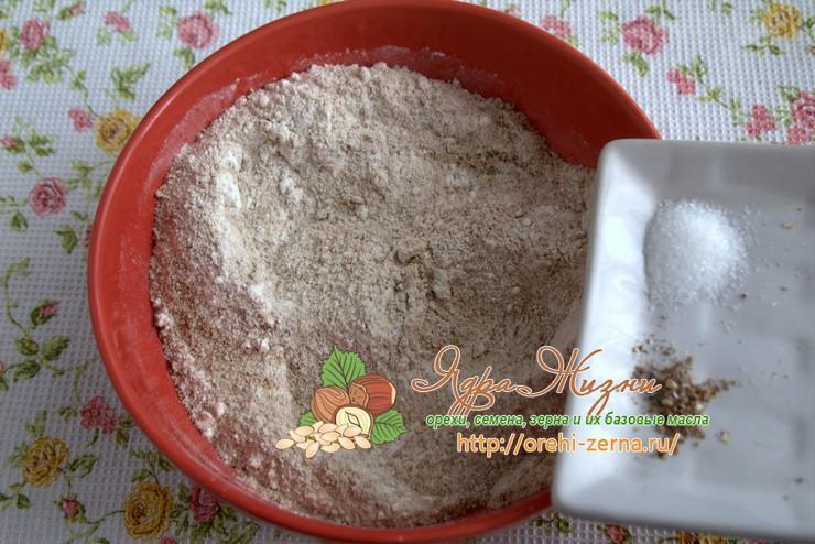 Льняное печенье рецепт в домашних условиях