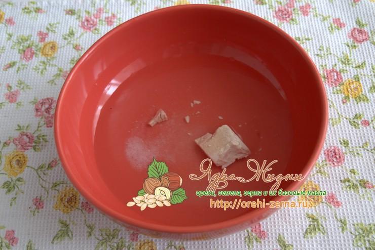 Льняной хлеб с овсяными хлопьями рецепт