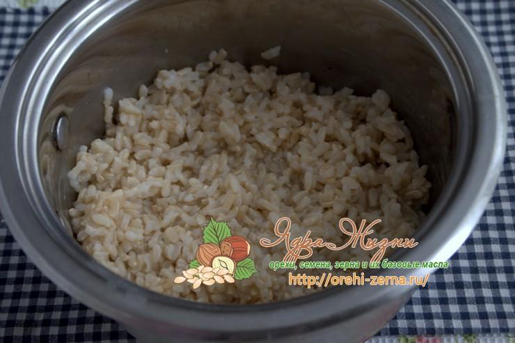 маш с рисом неочищенным рецепт