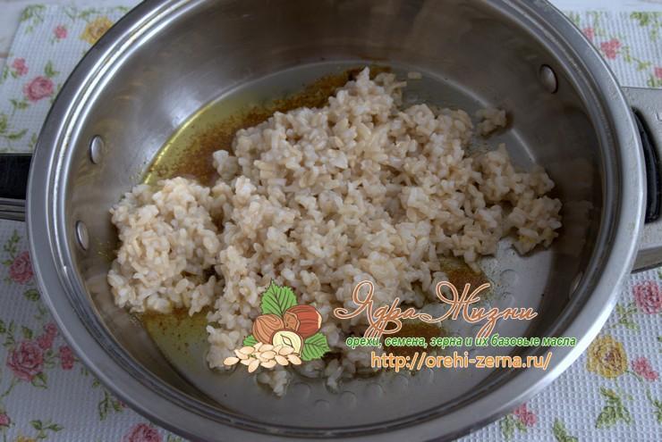маш с рисом неочищенным