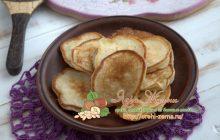 Оладьи из рисовой муки: рецепт в домашних условиях