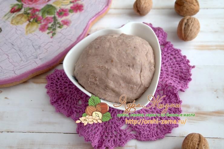 Ореховое тесто: рецепт в домашних условиях