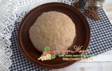 Постное льняное тесто: рецепт в домашних условиях