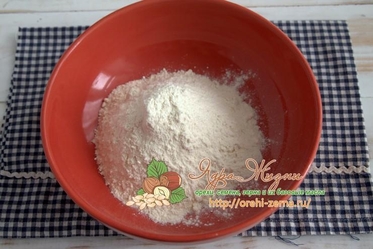 Постное льняное тесто рецепт