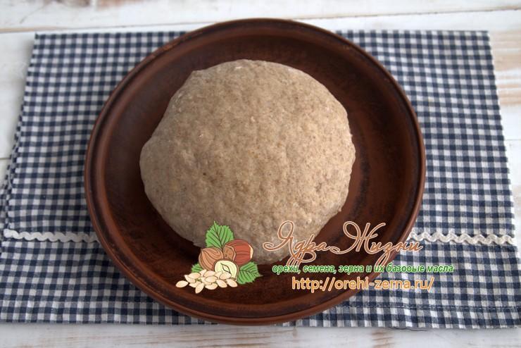 Постное льняное тесто