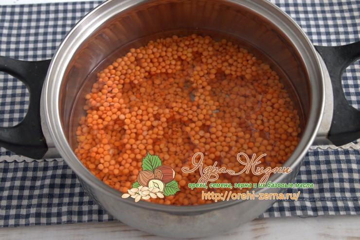 пюре из красной чечевицы рецепт в домашних условиях