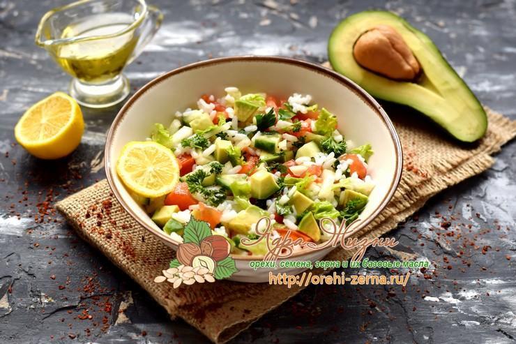 рисовый салат с овощами рецепт в домашних условиях
