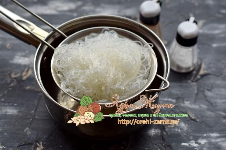 салат с фунчозой рецепт
