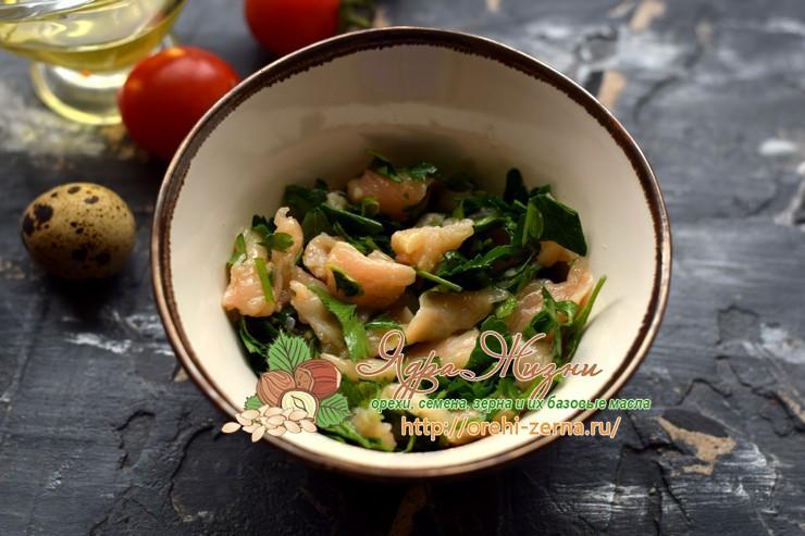 салат с кус-кус и семгой рецепт