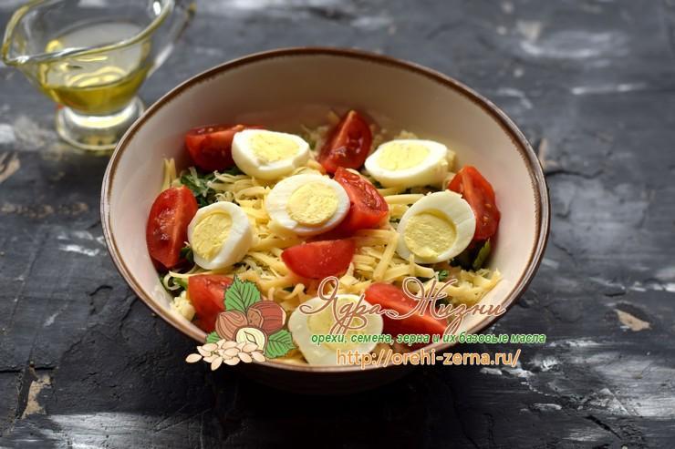 салат с кус-кус и семгой рецепт в домашних условиях