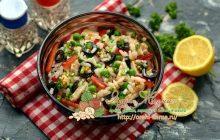 салат с курицей и рисом рецепт в домашних условиях