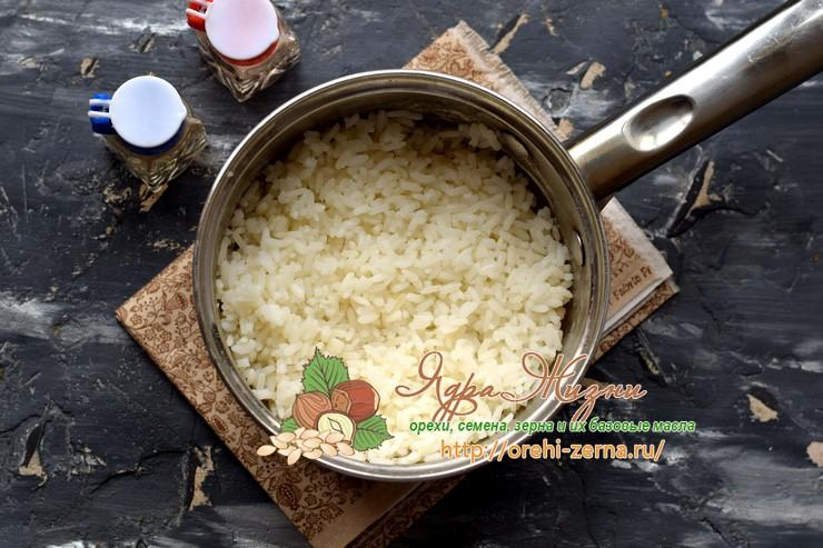 салат с курицей и рисом рецепт