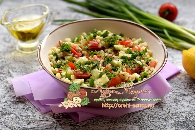 Салат Табуле на праздничный стол: рецепт в домашних условиях