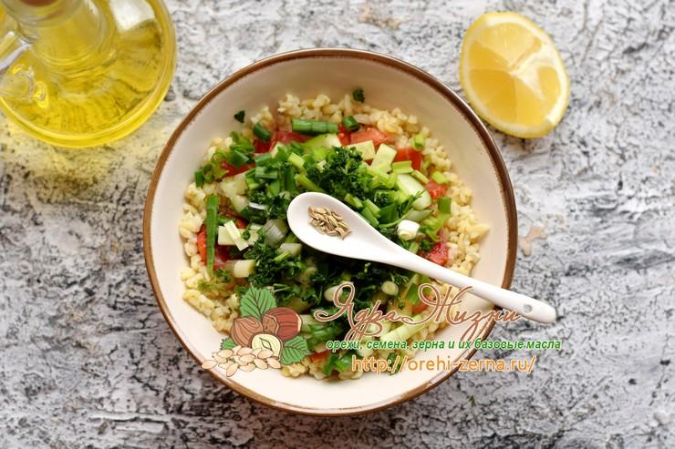 салат Табуле рецепт в домашних условиях