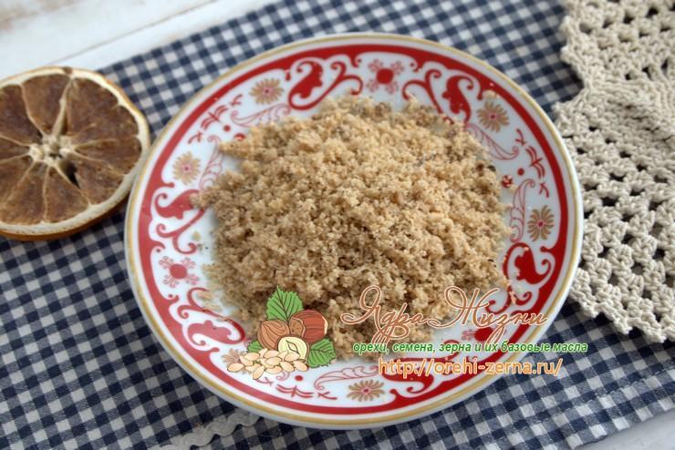 Как сделать муку из фундука: рецепт в домашних условиях