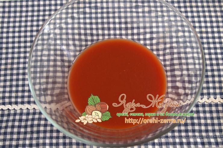 Томатное тесто рецепт