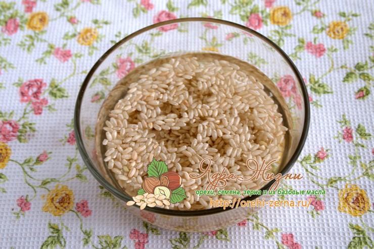 варить неочищенный рис рецепт