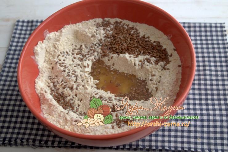 хлеб из нутовой муки