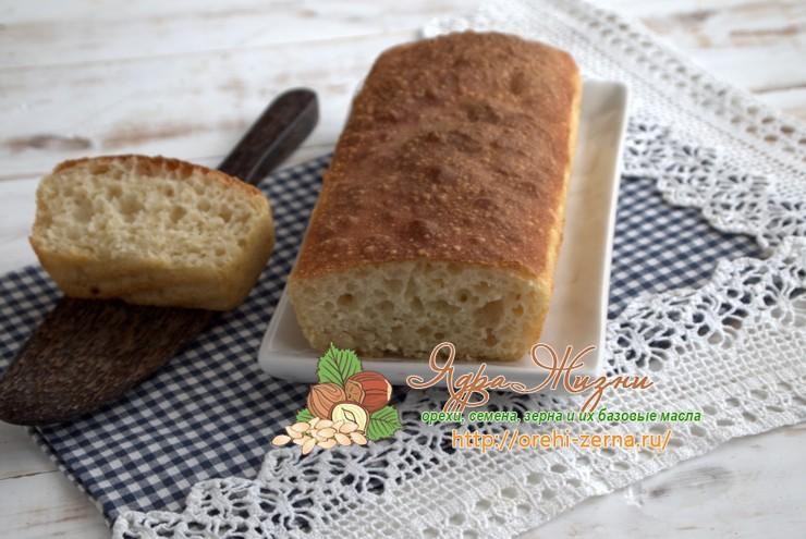 Как испечь заливной пшеничный хлеб по домашнему рецепту